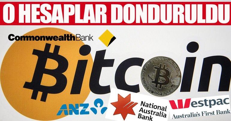 Dört büyük banka Bitcoin hesaplarını dondurdu