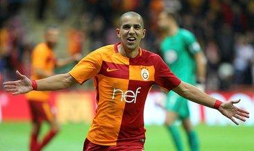 Feghouli 'Galatasaray'ı' sildi