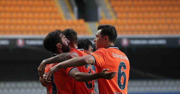 Medipol Başakşehir hata yapmadı! Medipol Başakşehir 2-0 Aytemiz Alanyaspor MAÇ SONUCU