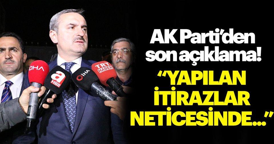 Son Dakika: AK Parti İstanbul İl Başkanı Şenocak: 11 Bin