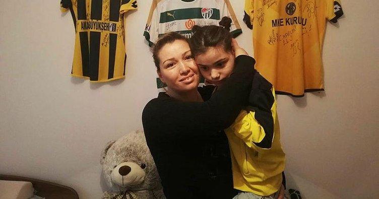 40 günlükken misafirin öptüğü Ecrin ağır engelli