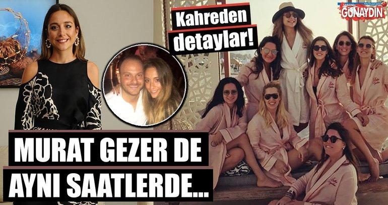 Murat Gezer acı haberi uçaktan inince almış