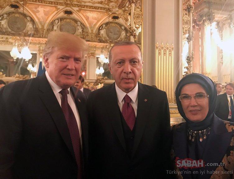 Başkan Erdoğan Fransa'da Putin ile bir araya geldi