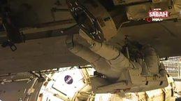 İşte ilk kez sadece kadınlardan oluşan ekibi tarihe geçen uzay yürüyüşünün görüntüleri...