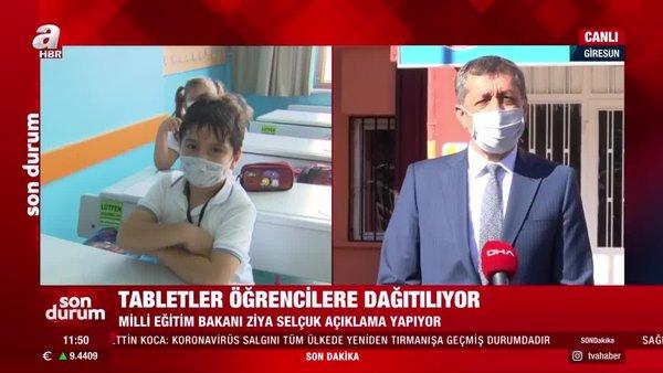 Son dakika! Milli Eğitim Bakanı Ziya Selçuk'tan canlı yayında ücretsiz dağıtılan tabletlerle ilgili açıklama | Video
