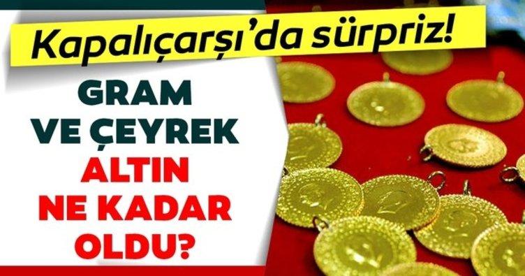 Kapalıçarşı'dan SON DAKİKA güncel ve canlı altın fiyatları:  22 ayar bilezik, cumhuriyet, ata ve çeyrek altın fiyatları 2 Aralık bugün ne kadar, kaç para?