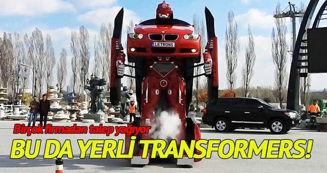 Bu da Türk işi Transformers!