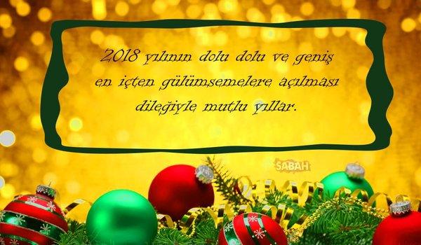 İşte en güzel 2018 Yılbaşı mesajları! Dostlarınıza en güzel resimli yeni yıl mesajları burada