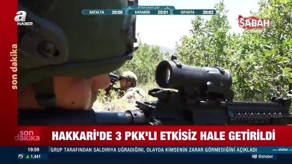 İçişleri Bakanlığı açıkladı! 3 terörist etkisiz hale getirildi | Video