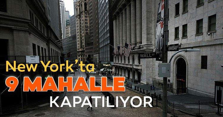 New York'ta 9 mahalle Kovid-19 artışı nedeniyle tekrar kapatılacak