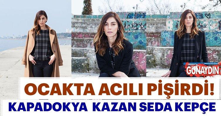 Kapadokya kazan Seda Akman kepçe
