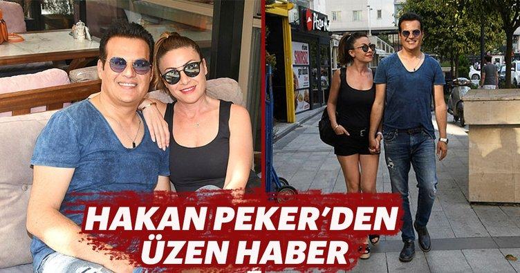 Hakan Peker, eşi Arzu Öztoprak'tan boşandı