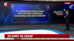 İşsizlik maaşı nasıl alınır? Faruk Erdem'den canlı yayında işsizlik maaşı hakkında bilgiler | Video