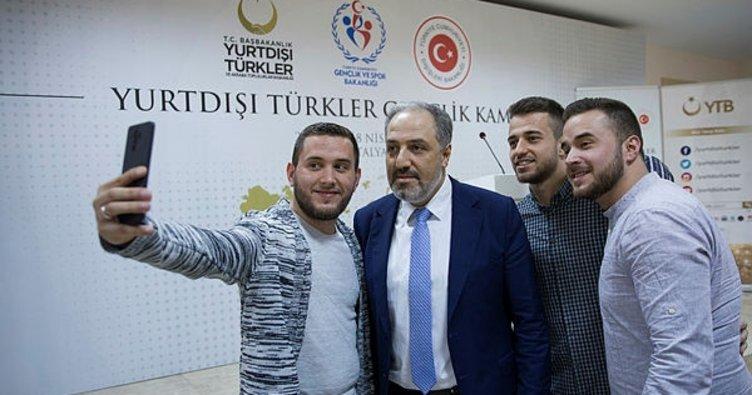 Yurt dışında yaşayan Türk gençlerin kampı