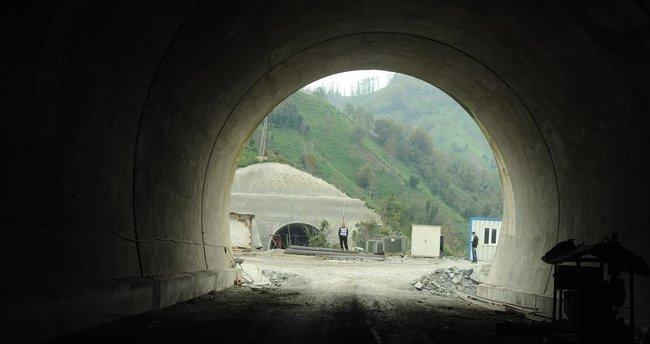 Türkiye'nin en uzun tünelinde 11 Kasım'da ışık görülecek