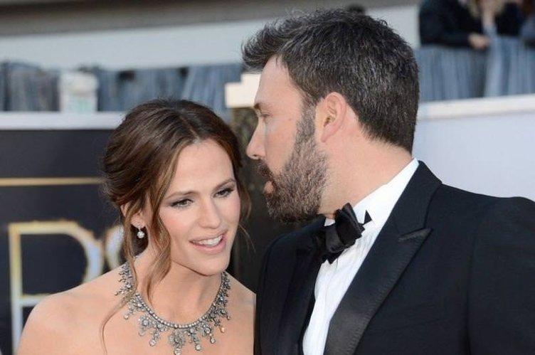 Ben Affleck ile Jennifer Garner boşanıyor