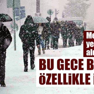 Meteoroloji'den son dakika hava durumu tahmini! - İstanbul'a kar ne zaman yağacak?