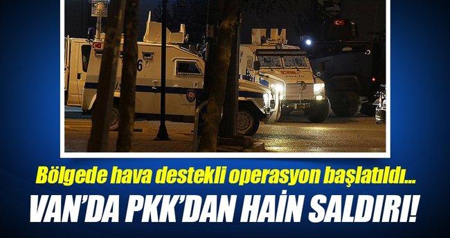 Van'da Emniyet Müdürlüğüne silahlı saldırı!