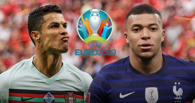 EURO 2020'de dev maç! Son şampiyonlar karşı karşıya... Portekiz - Fransa | CANLI