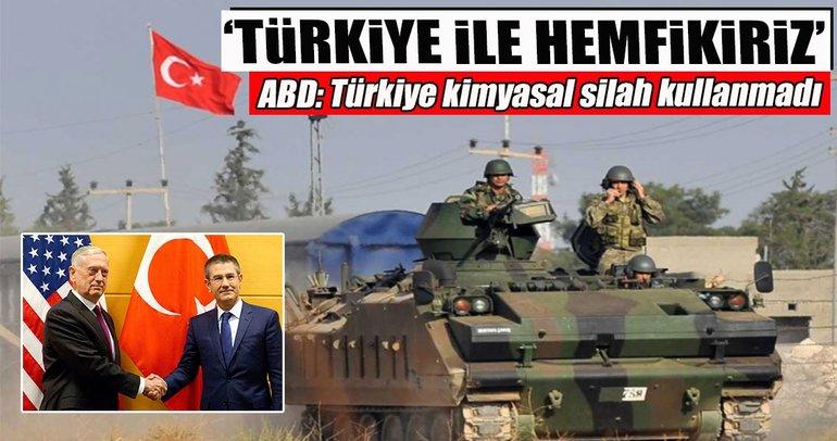 'Türkiye ile hemfikiriz'