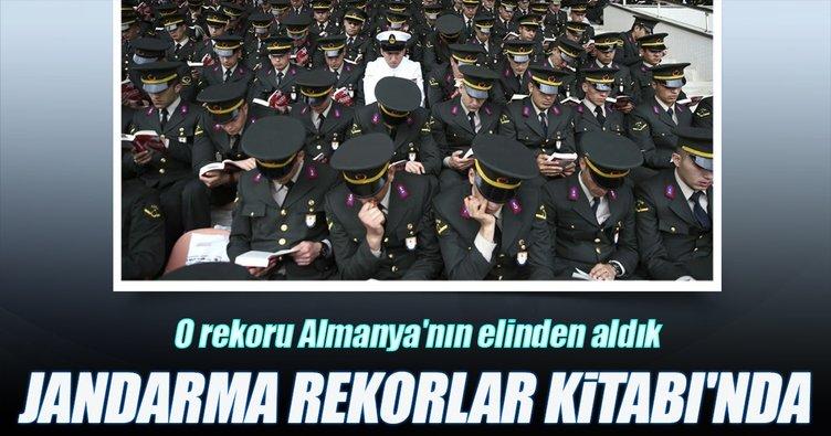 Jandarma, Guinness Rekorlar Kitabı'nda