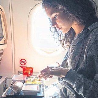 'Bir tuhaf' uçak yemekleri