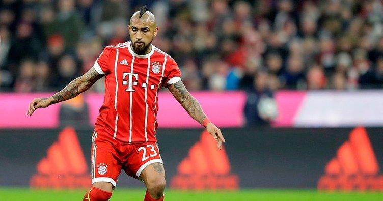 Bayern Münih'te Arturo Vidal sezonu kapattı