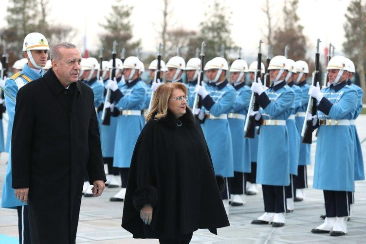 Malta Cumhurbaşkanı Preca Ankara'da