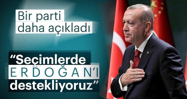 Son dakika: BBP Genel Başkanı Destici: Seçimlerde Erdoğan'ı destekliyoruz