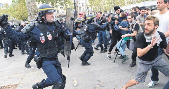 Fransız gösterici gözünü kaybetti