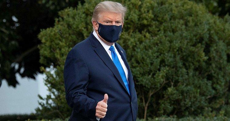Trump'ın vücudu yorgun, sesi boğuk