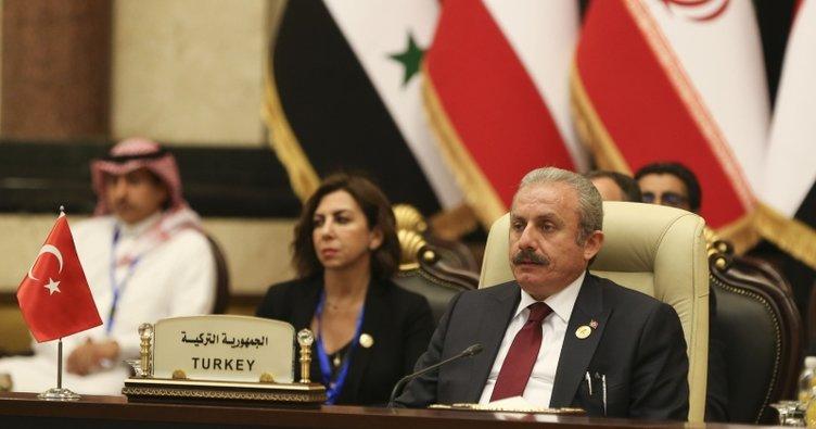 TBMM Başkanı Mustafa Şentop: Irak'tan beklentimiz, PKK unsurlarına barınma imkanı vermemesi