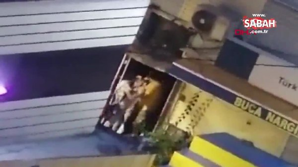Erkek arkadaşı tarafından darp edilen kadından şaşırtan davranış | Video