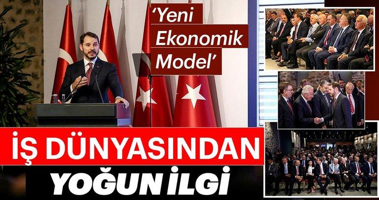 Ä°Å? dünyası 'Yeni Ekonomi Model'i toplantısını yakından takip etti