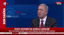 Son dakika: MSB BakanıHulusi Akar'dan Dünyaya net Doğu Akdeniz mesajı: Artık şunu herkesin bilmesi lazım...