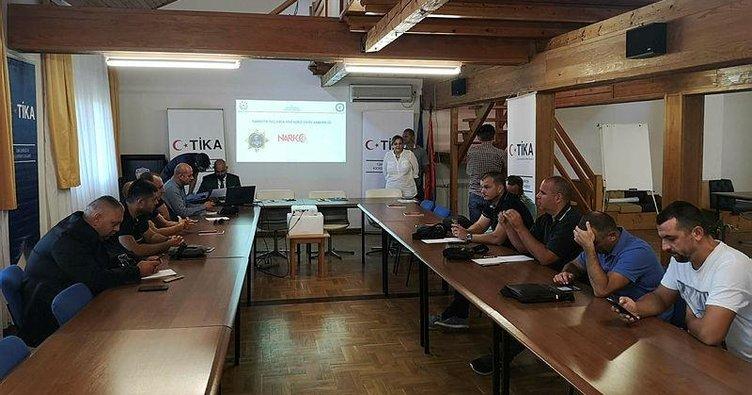 TİKA'dan Sırbistan'da narkotik eğitimi
