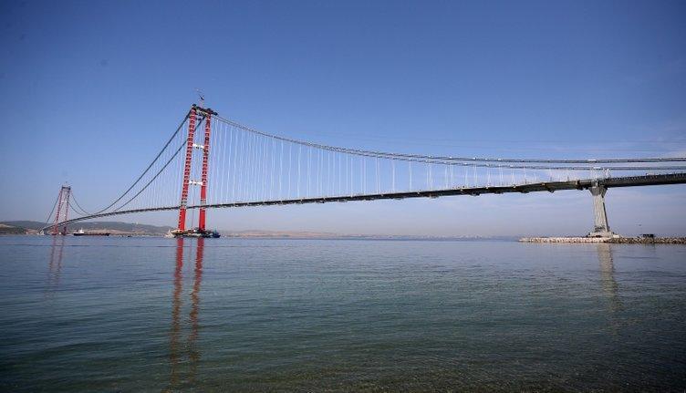 1915 Çanakkale Köprüsü'nde tarihi gün: Asya'dan Avrupa'ya yürüyerek geçecekler!
