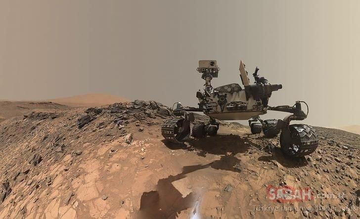 Mars'ta heyecanlandıran keşif! Nasa'dan tarihi açıklama