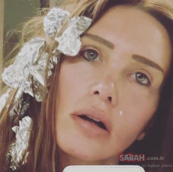 Sıfır makyaj Hülya Avşar duş paylaşımı ile şaşırttı! Hülya Avşar'ın bu halini kimse bilmiyordu...