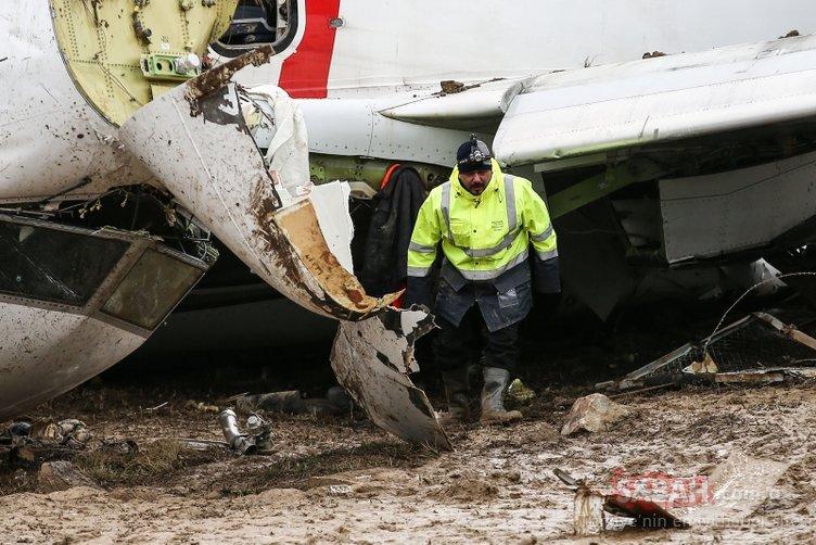 Pegasus uçağının pistten çıkmasıyla ilgili flaş detay! Yolcular dehşet anını anlattı