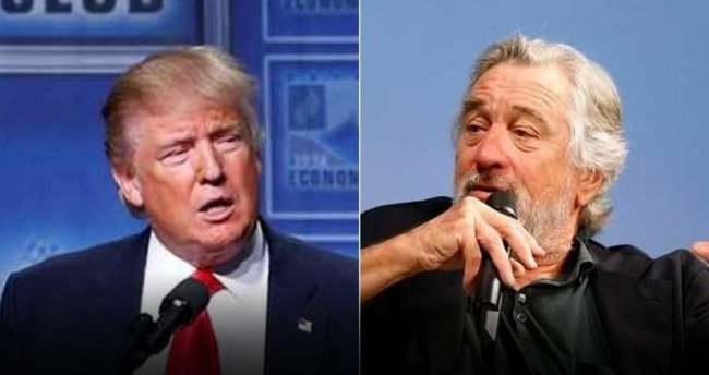 De Niro'dan Trump'a: Yüzüne yumruk atmak isterdim!