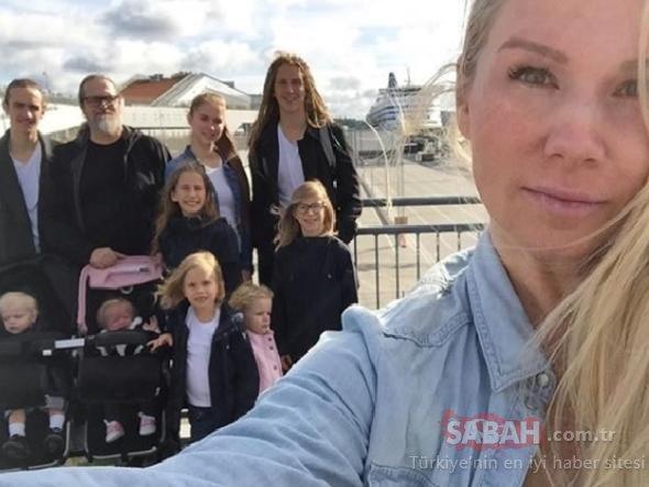 10 çocuklu kadının fit hali görenleri hayran bırakıyor!