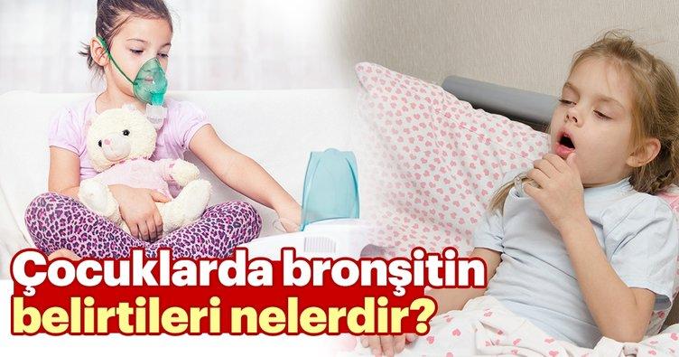 Çocuklarda bronşitin belirtileri nelerdir? Çocuklarda ve bebeklerde bronşit başlangıcı nasıl olur?