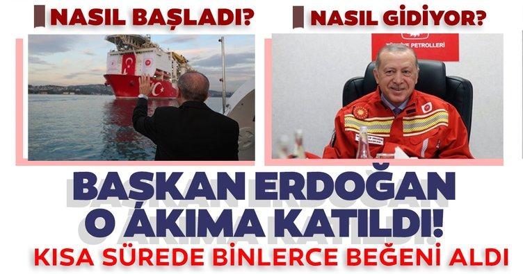 """Başkan Erdoğan, sosyal medya kullanıcılarının başlattığı """"Nasıl başladı? / Nasıl gidiyor? akımına dahil oldu"""