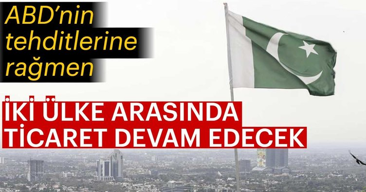Pakistan, İran ile ticarete devam edecek
