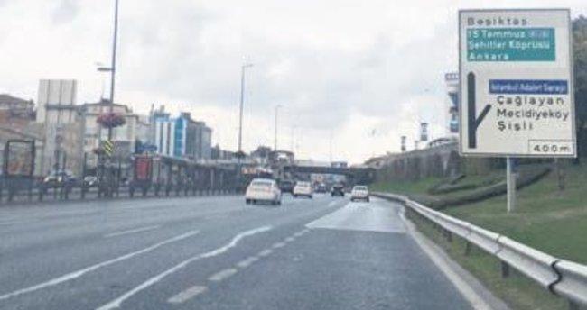 Megakent'te trafik bayramı