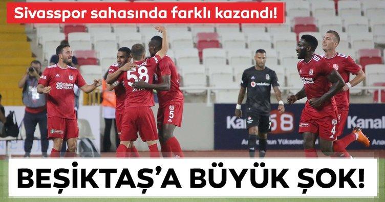 Sivasspor'dan Beşiktaş'a farklı tarife