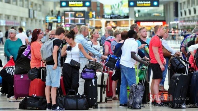 Turist sayısı uçtu! Sadece Nisan ayında...