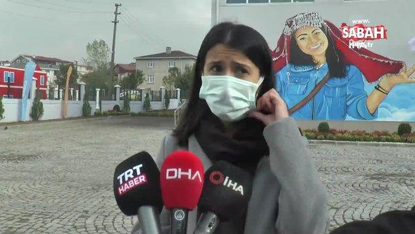 Şehit Aybüke Yalçın'ın şehit düştüğü saldırıda yanında olan meslektaşı o anları gözyaşları içinde böyle anlattı | Video