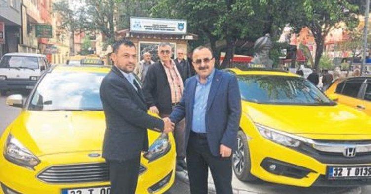 ÖTV indirimi ile taksiler yenilendi